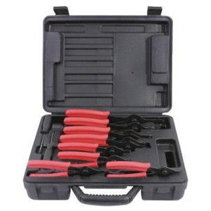 Universal circlip plier set 10pcs, KS Tools