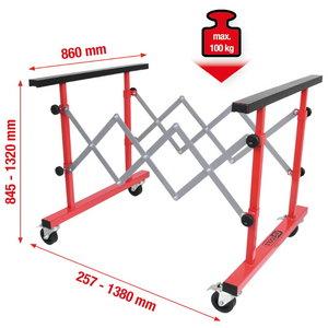 Uni telescopic multi purpose trolley, 257-1380mm, KS Tools