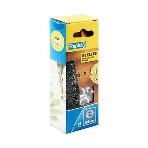 Eyelets 8mm 25pcs, Rapid