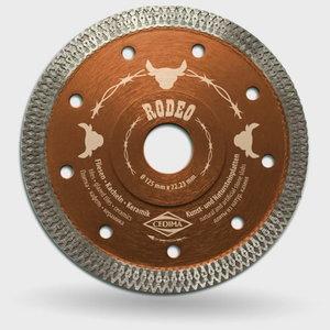 Deimantinis diskas 125x22,23mm EC RODEO, Cedima