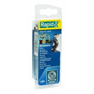 Rõngasneet 12x23mm 25tk + paigaldustööriistad, Rapid