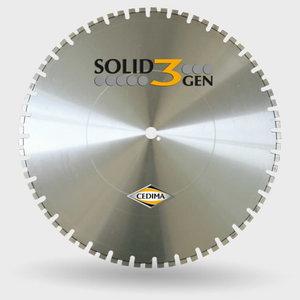 WSO-10 Solid Gen.3 dimanta disks betonam, 700/60mm, Cedima