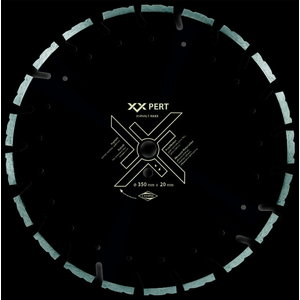 Deimantinis pjovimo diskas 450mm Asphalt Maxx, Cedima