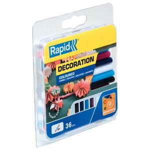 Liimipulgad 7x94mm/125g 5 värvi, Rapid