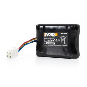 Battery Pack(Li-ion,2.0Ah,20V)WA3230, pos.43, Worx