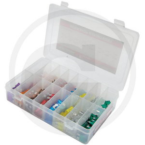 Blade fuse assortment 240pcs, Granit