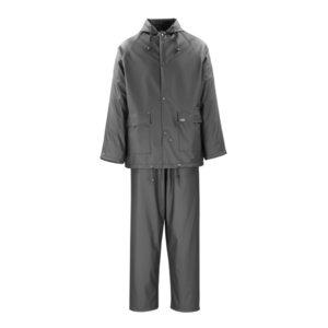 Ūdensnecaurlaidīgs apģērbs PAVAO, melns, M, Mascot