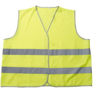 Atstarojošā veste WEYBURN, dzeltena, Mascot