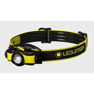 Headlamp iH5R with helmet mount, rechargeable, IP54, 400lm, LedLenser