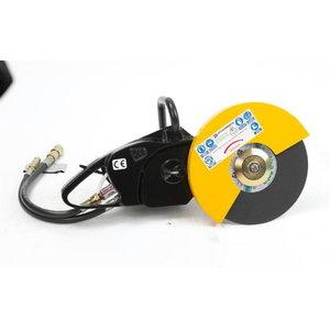 Hydraulic disc cutter for -BEAVER, JCB