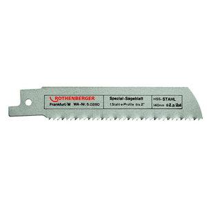 Saw blade 1,6/140mm HSS Metal, Rothenberger