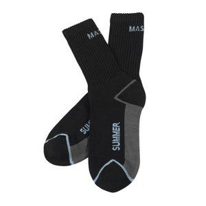 Kojinės Manica vasarinės juodos  3vnt pakuotėje 39/43, , Mascot