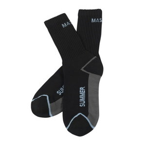 Socks Manica BLACK, Mascot