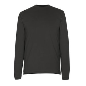 Marškinėliai ilgomis rankovėmis Albi, tamsus antracitas M, Mascot