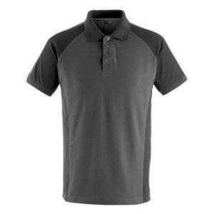 Polo marškinėliai Bottrop tamsus antracitas/juoda 2XL, Mascot