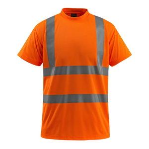 Augstas redzamības t-krekls Townswille, oranžs, S izmē S, Mascot