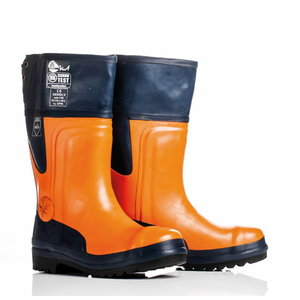 Chainsaw rubber boots Class 3, Ratioparts