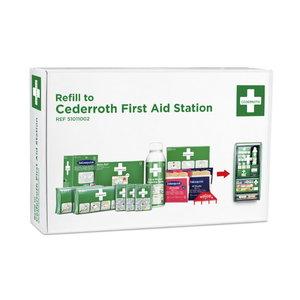 Pirmās palīdzības līdzekļu stenda papild. komplekts 490920, Cederroth