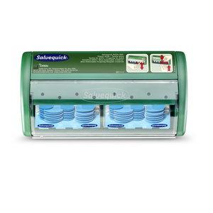 Salvequick Plaster Dispenser Blue Detectable, Cederroth
