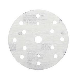 Šlifavimo diskas 152mm P1500 15sk. 3M 260L Hookit