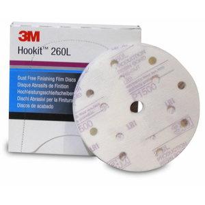 Diskas Hookit 150mm P600 15sk. 260L Purple, 3M