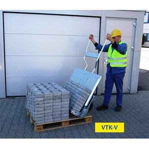 Seadistatav sillutisekivide transportkäru VTK-V, Probst