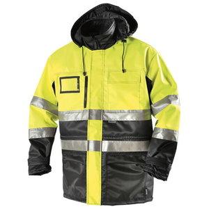 Talve pikk kõrgnähtav tööjope  5111 kollane/sinine 2XL, Dimex