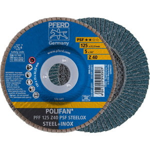 lamellketas 125x22 Z40 PSF PFF POLIFAN