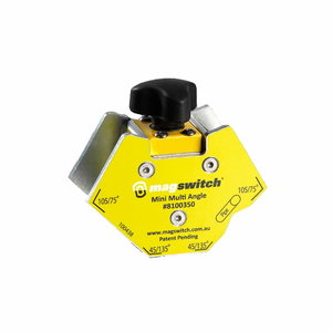 Magnet Mini Multi Angle MQF40 40kg Magswitch, Binzel