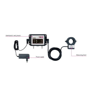 Elektroninis suvirinimo dujų reduktorius EWR MIG/MAG BASIC, Binzel