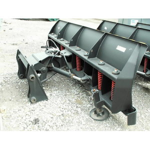 Snow plough 3300mm POME for JCB 3CX/4CX, Pomemet