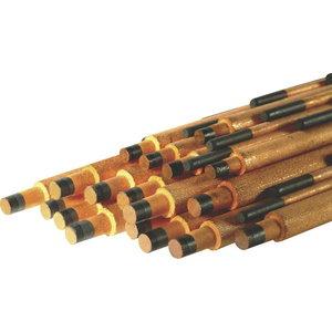Ogļu elektrods 6.5x305mm, Binzel