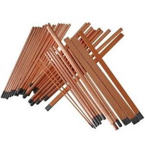 Oglekļa elektrods, smails, 9,5x305 mm, Binzel