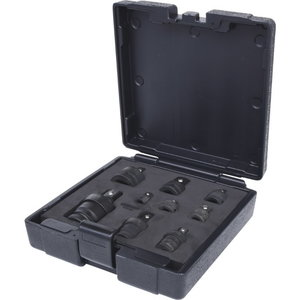Triecienadapteru komplekts, 9 gab., KS Tools