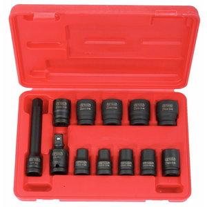 """Löökpadrun kmpl 1/2"""" 10-24mm 12-osa, KS Tools"""