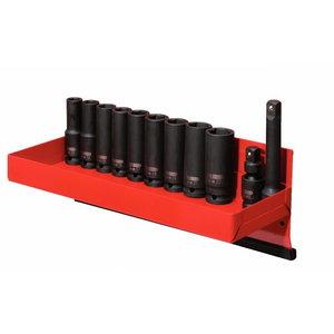 """Hexagon impact socket set 1/2"""" 12-22mm 13-pcs, deep, KS Tools"""