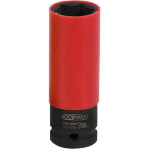 """Torque impact socket deep 1/2"""" 21mm, KS Tools"""