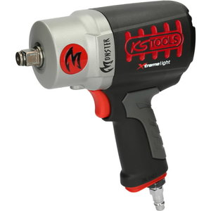"1/2"" MONSTER high performance impact wrench, 1690Nm light"