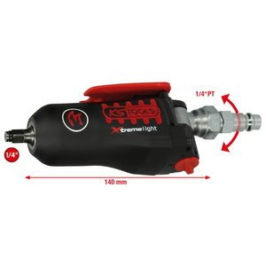 """1/4"""" MONSTER Xtremelight mini pneumatic impact driver with f, Kstools"""