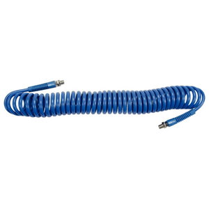 PU compressed air spiral coiled tube 12bar 8mm, KS tools