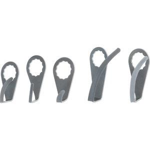 Gremžiamoji geležtė, lenkta, riesta, geležtės ilgis 36mm, KS Tools