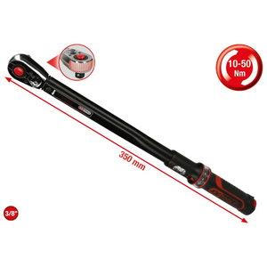 """3/8"""" ERGOTORQUEprecision torque wrench 10-50Nm, Kstools"""