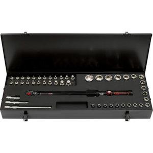 """1/2"""" ERGOTORQUEprecision torque wrench toolkit 48 pcs, Kstools"""