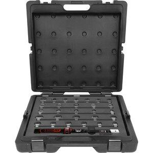 9x12mm Torque tool set with plug in tools, 29 pcs 10-50Nm, KS Tools