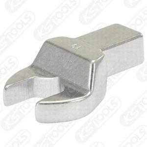14x18mm žiedinis raktas QC galvutė  21mm, KS Tools