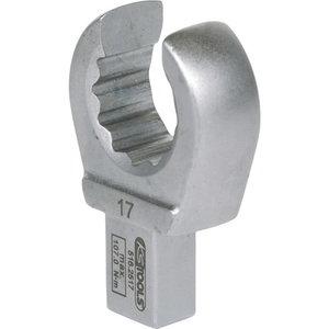 Avatud silmuspea 9x12mm, 17mm, KS Tools