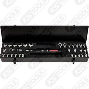 Dinamometrinių  raktų kompl. 9x12mm ULTIMATEprecision 33 vnt, KS tools