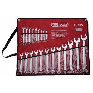 Combination spanner set 6-32mm 21 pcs, KS Tools