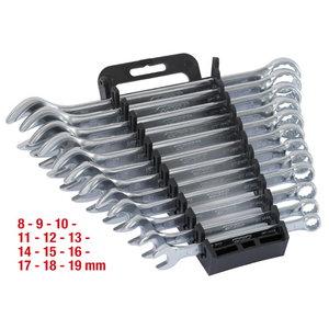 Lehtsilmus kmpl 8-19mm 12osa, KS Tools