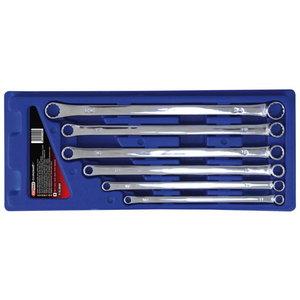 Raktų žiediniais galais komplektas XL, KS tools
